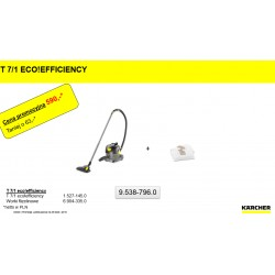 Odkurzacz na sucho T 7/1 EcoEficiency